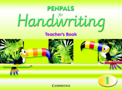 Penpals for Handwriting Year 1 Teacher's Book by Gill Budgell image