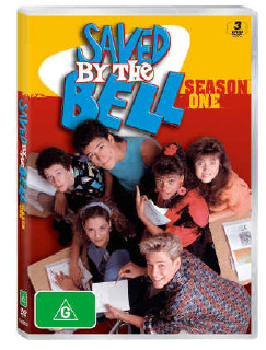 Saved by the Bell - Season One (3 Disc Set) on DVD
