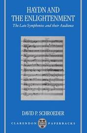 Haydn and the Enlightenment by David P. Schroeder image