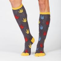 Women's - Salutations Knee High Socks