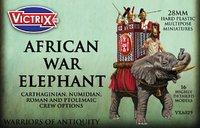Victrix Plastic African War Elephant