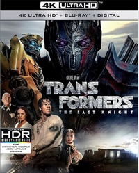 Transformers: The Last Knight on UHD Blu-ray