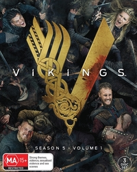Vikings - Season 5 Volume 1 on DVD