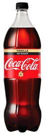 Vanilla Coke No Sugar Soft Drink (1.5l X 8)