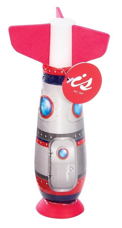 IS Gifts: Blast Off - Suction Cup Rocket (Assorted Designs)
