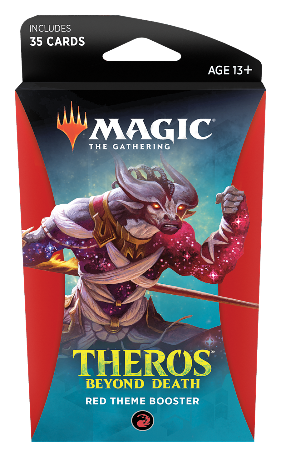 Magic The Gathering: Theros Beyond Death Theme Booster- Red image
