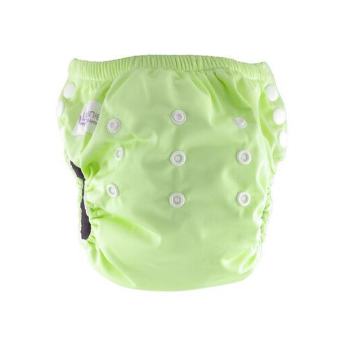 Little Genie: Reusable Charcoal Training Pants - Mint Green