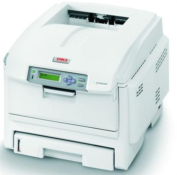 Oki C5600dn with auto Duplex unit and 64 MB total  Colour Laser USB2 + Network image