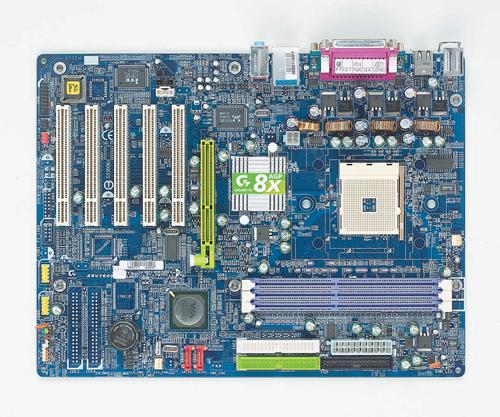 Gigabyte Motherboard Socket 754 GA-K8VT800 image