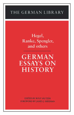 German Essays on History by G W F Hegel