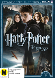 Harry Potter: Year 6 - The Half-Blood Prince (Special Edition) on DVD