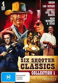 Six Shooter Classic Westerns Collection - Vol 1 on DVD