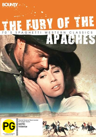 The Fury of the Apaches on DVD image