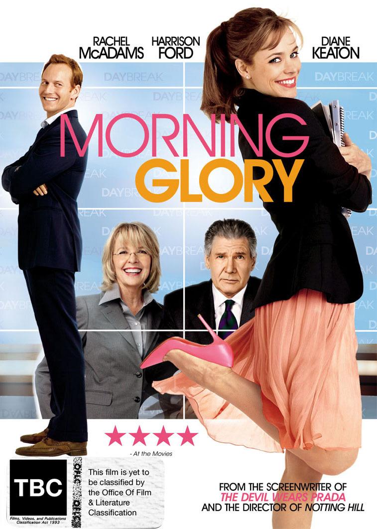 Morning Glory on DVD image