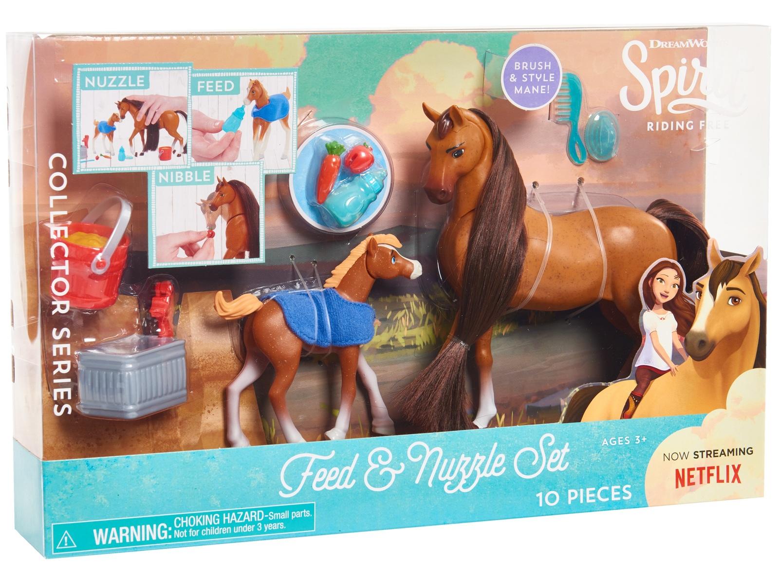 Spirit: Riding Free - Feed & Nuzzle Playset image