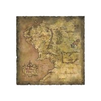 Lord of the Rings: Parchment Map of Middle Earth