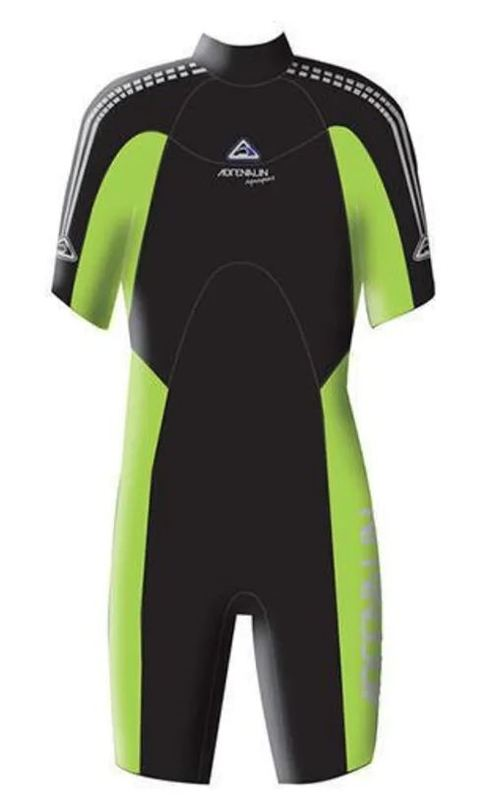 Aquasport Junior Springsuit - Lime (Size 12)