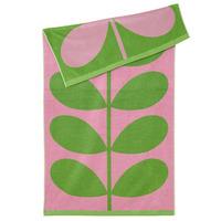 Orla Kiely Luxury Beach Towel - Lilac Pink Stem image