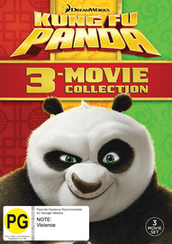 Kung Fu Panda Trilogy on DVD