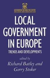 Local Government in Europe by Richard Batley