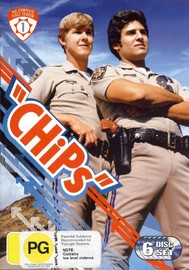 CHiPs - Complete Season 1 (6 Disc Set) on DVD image