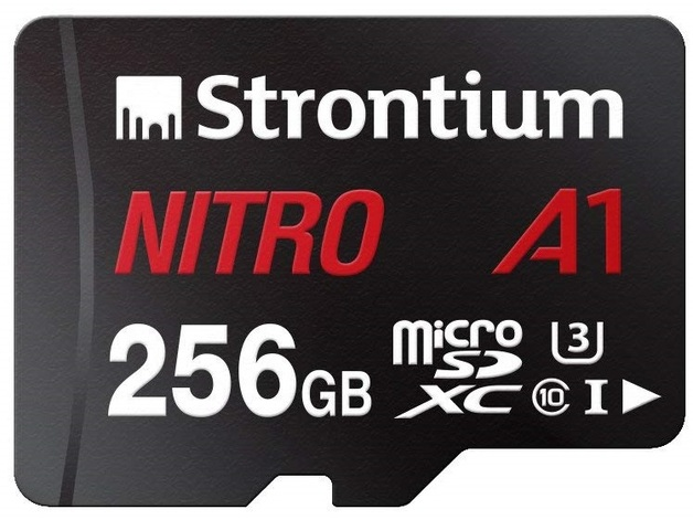 Strontium NITRO A1 256GB Micro SD With Adapter