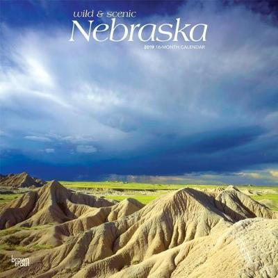 Nebraska Wild & Scenic 2019 Square by Inc Browntrout Publishers