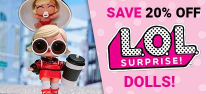 20% off LOL Surprise Dolls!