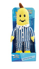 Bananas in Pajamas Classic Talking Plush 30cm - B1 image