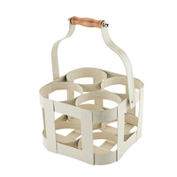 Twine: Rustic Farmhouse - Vintage 4 Bottle Carrier