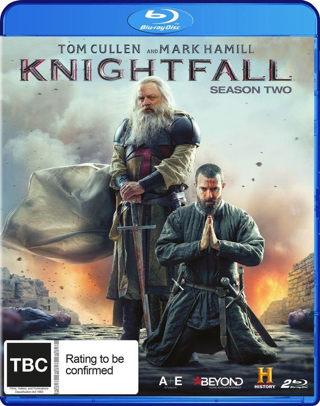 Knightfall - The Complete Second Season on Blu-ray