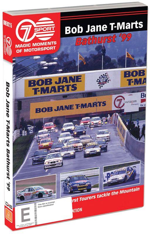 Magic Moments of Motorsport Bob Jane T-Mart Bathurst 500 (1999) on DVD