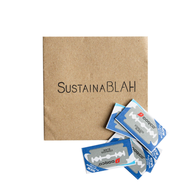 Sustainablah Replacement Blades - 10 Pack