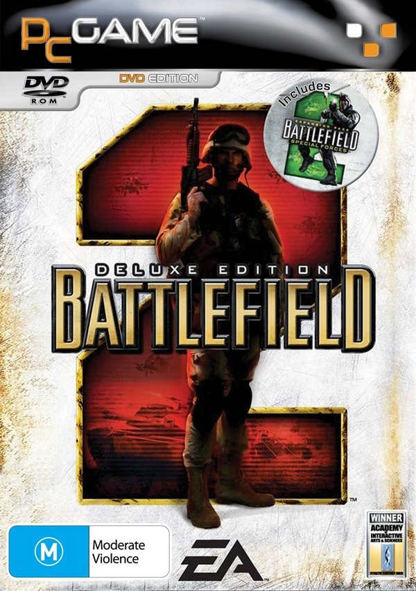 Battlefield 2 Deluxe Edition (DVD) for PC Games image
