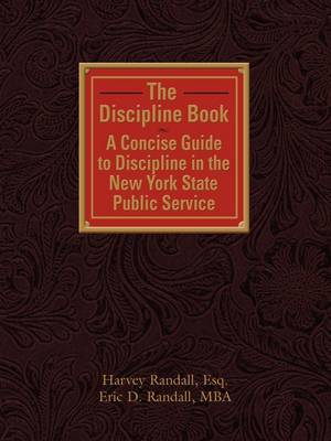 THE Discipline Book by Harvey Randall image