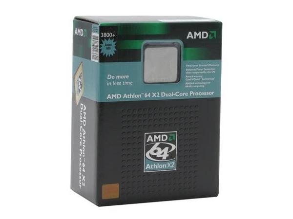 AMD 65W Athlon 64 X2 EE 3800+ Dual Core 64Bit SKT  AM2 2000MHZ Hyper Transport