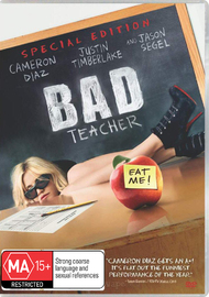 Bad Teacher on DVD