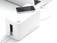 Bluelounge CableBox Mini Cable Management Solution - White image