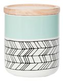 General Eclectic Medium Canister - Mint Feather