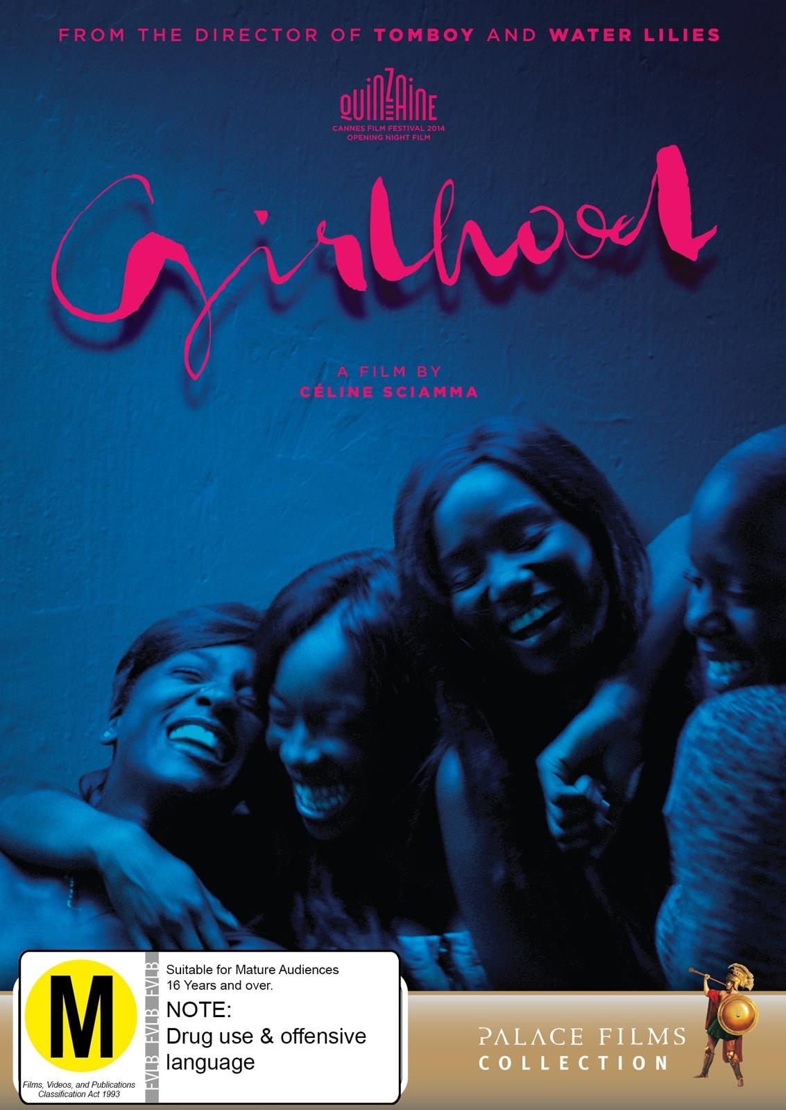 Girlhood on DVD image