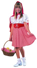 Red Riding Hood Girls Costume - (Large)