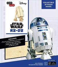 Incredibuilds: Star Wars: R2-D2 3D Wood Model by Michael Kogge