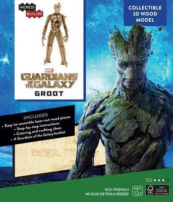 Incredibuilds: Marvel: Groot: Guardians of the Galaxy 3D Wood Model by Sumerak Marc