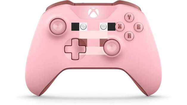 Xbox One Wireless Controller - Minecraft Pig (with Bluetooth) for Xbox One