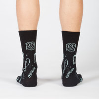 Men's - Pizza Pie In The Sky Crew Socks image