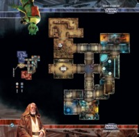 Star Wars: Imperial Assault - Anchorhead Cantina Map