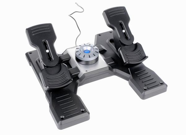 Logitech Pro Flight Rudder Pedals for  image