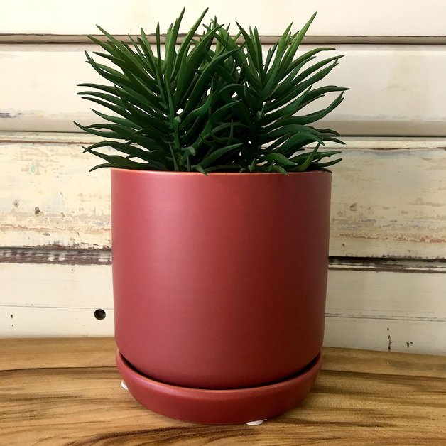 General Eclectic: Small Oslo Planter - Rosewood