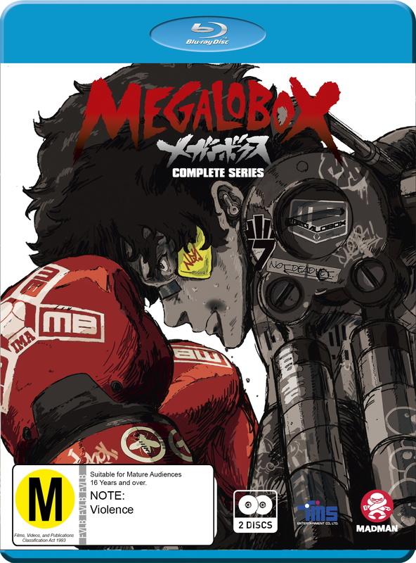 Megalobox - Complete Series (Eps 1 - 13) on Blu-ray