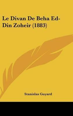 Le Divan de Beha Ed-Din Zoheir (1883) by Stanislas Guyard image